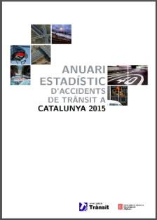 El Servei Català de Trànsit publica l'Anuari estadístic d'accidents de trànsit a Catalunya 2015