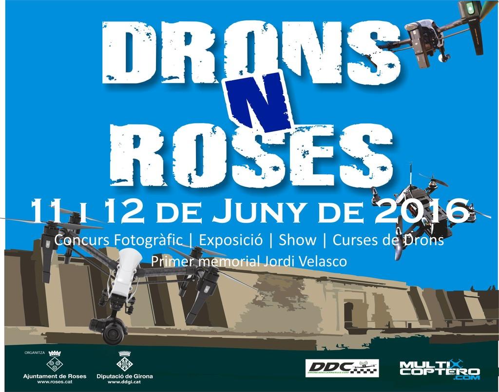 Arriba el 1r Festival Drons N'Roses