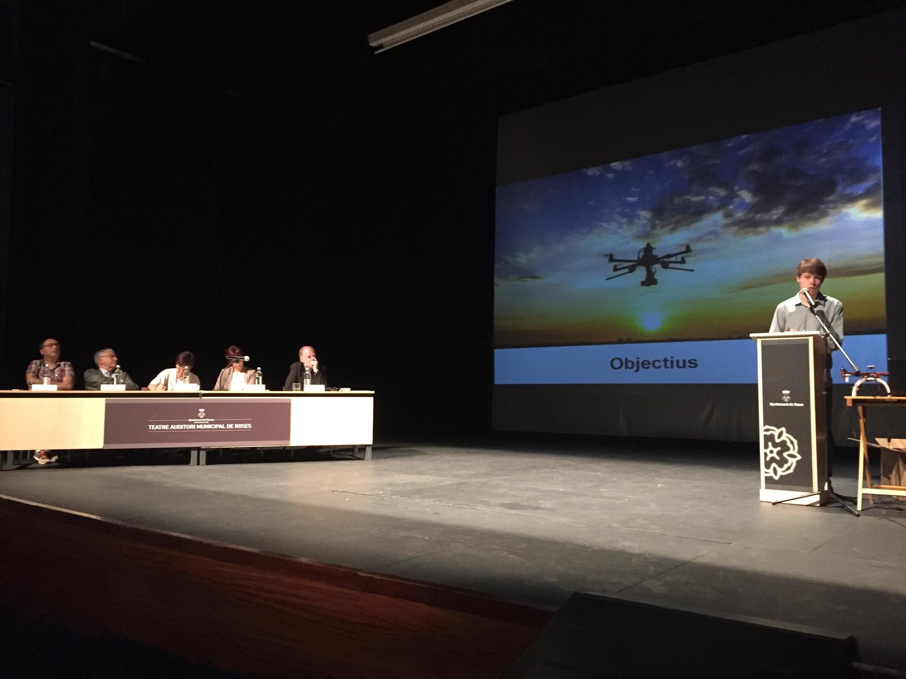 """El treball """"Asma i Esport"""", de Pau Coll, guanyador de la desena edició dels Premis Treballs de Recerca de Roses"""