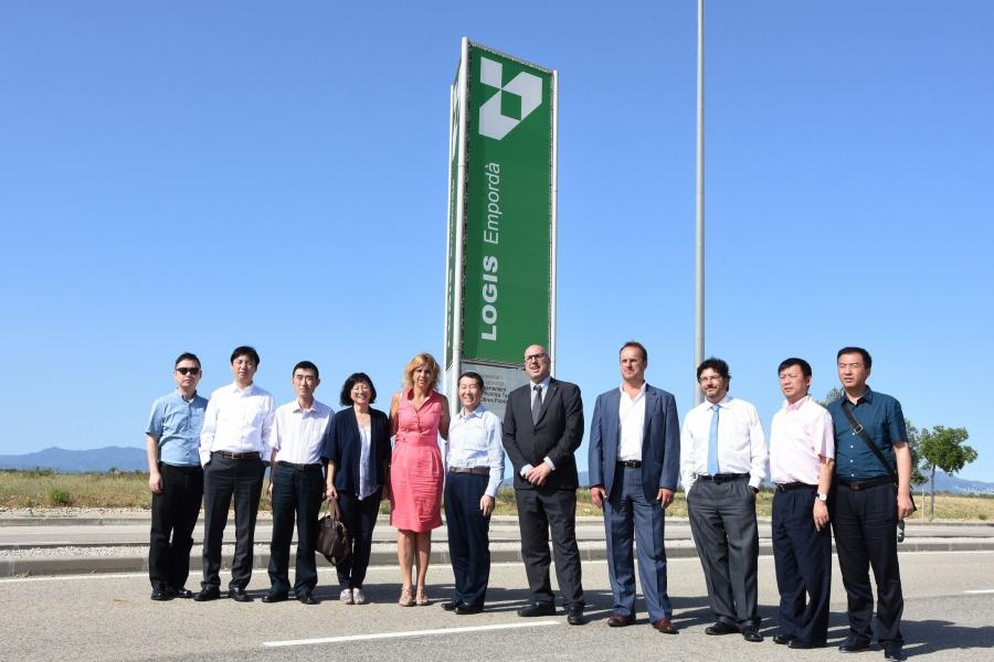Una delegació del govern del districte de Minhang de Xangai visita Figueres i el Logis Empordà