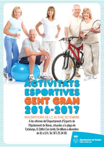 El dia 1 s'obren les inscripcions de les activitats esportives per a la gent gran
