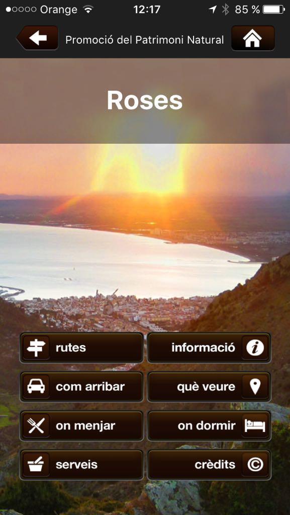 Les rutes pel patrimoni natural de Roses disponibles al mòbil gràcies a l'aplicació NaturaLocal