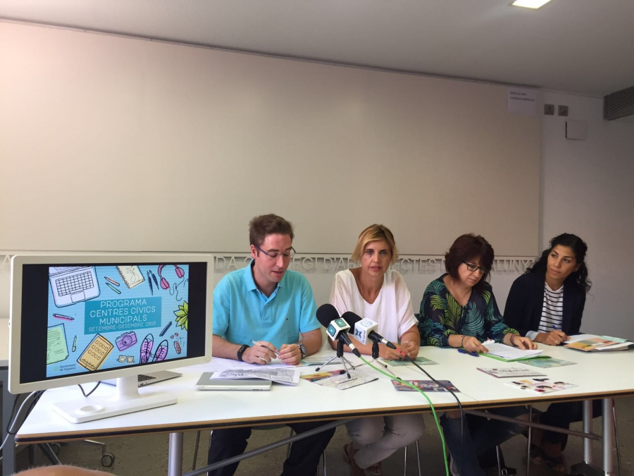 Figueres celebra el 15è aniversari dels Centres Cívics amb 80.000 usuaris