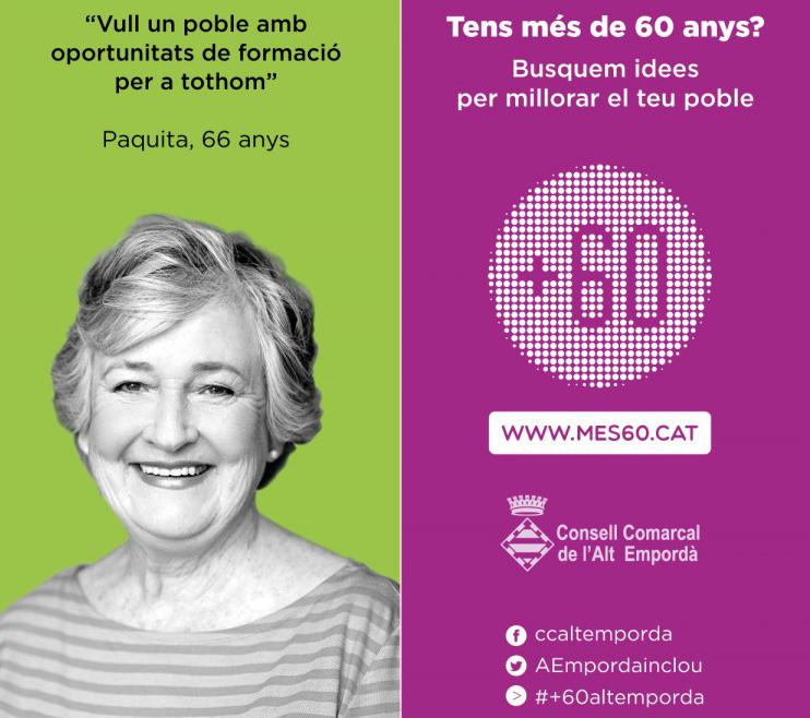 Primera sessió de participació del +60 Alt Empordà a Roses