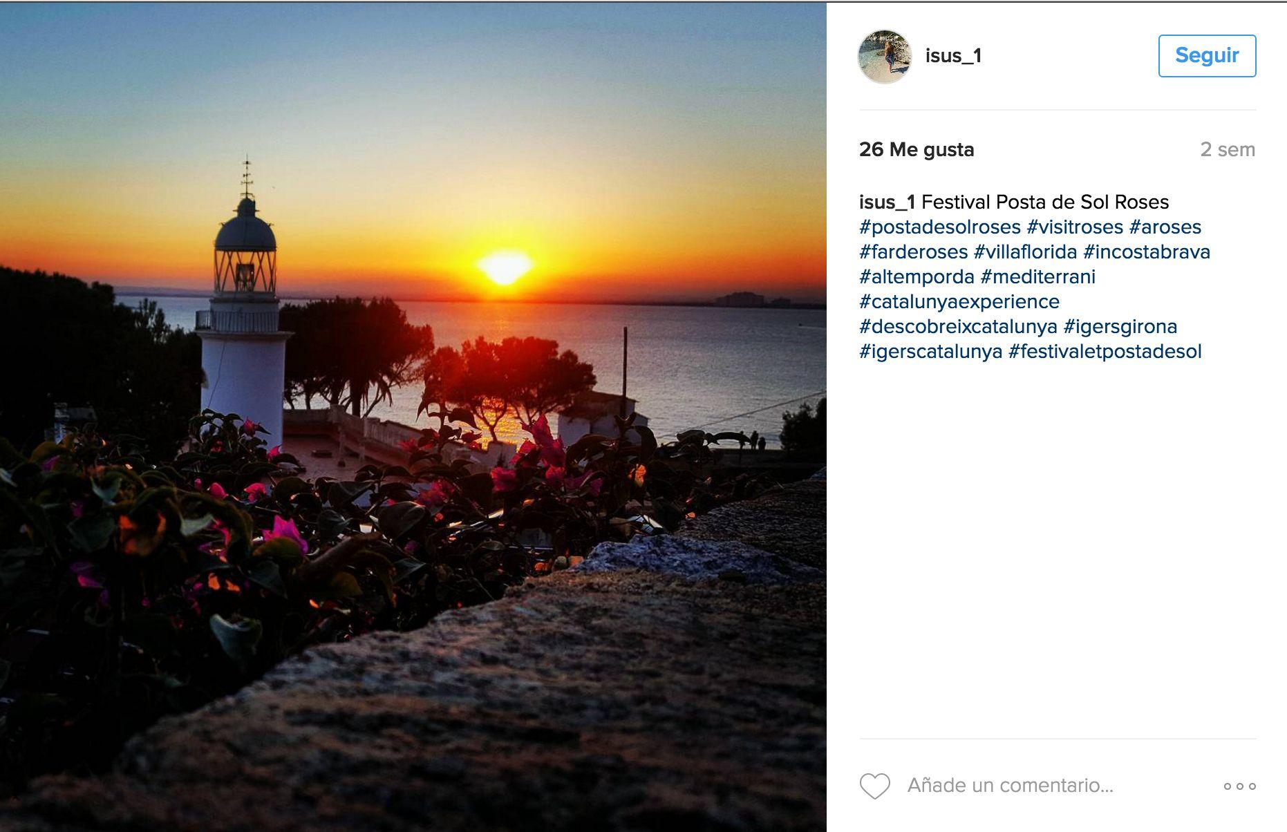 Els guanyadors del concurs d'Instagram del Festivalet Posta de Sol