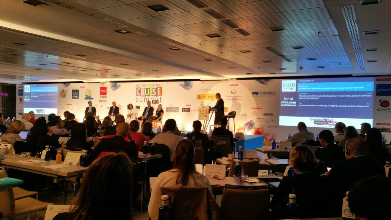 Promoció del port de Roses en el International Cruise Summit per impulsar el tràfic de creuers