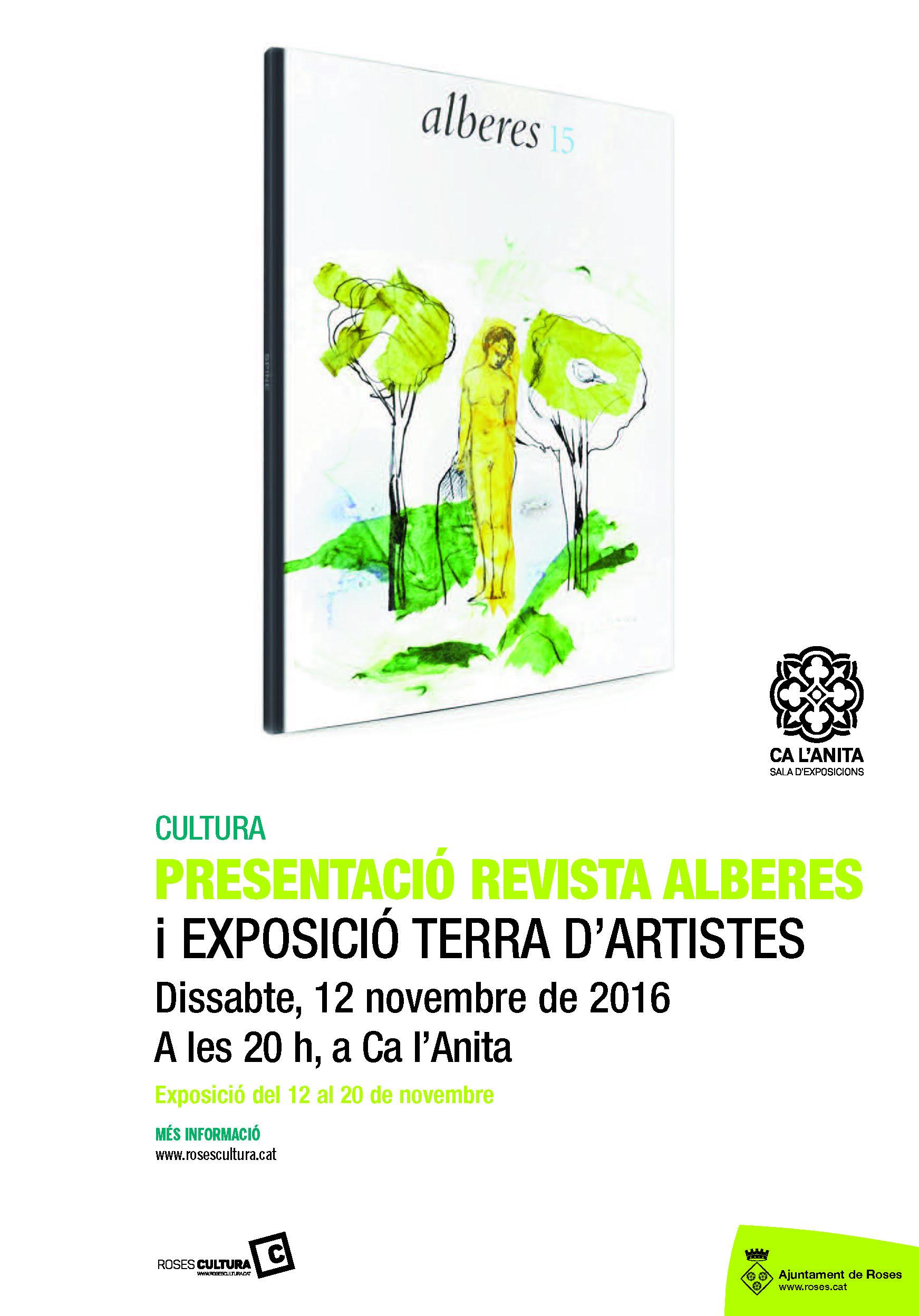 Ca l'Anita acull la mostra col·lectiva «Alberes 15. Terra d'artistes»