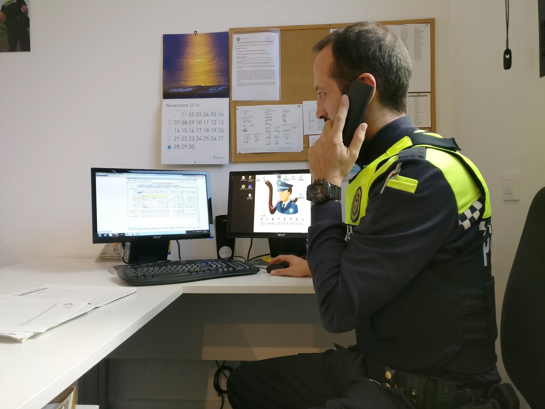 La Policia Local fa un salt tecnològic per agilitzar la seva gestió i oferir un servei més ràpid i eficaç