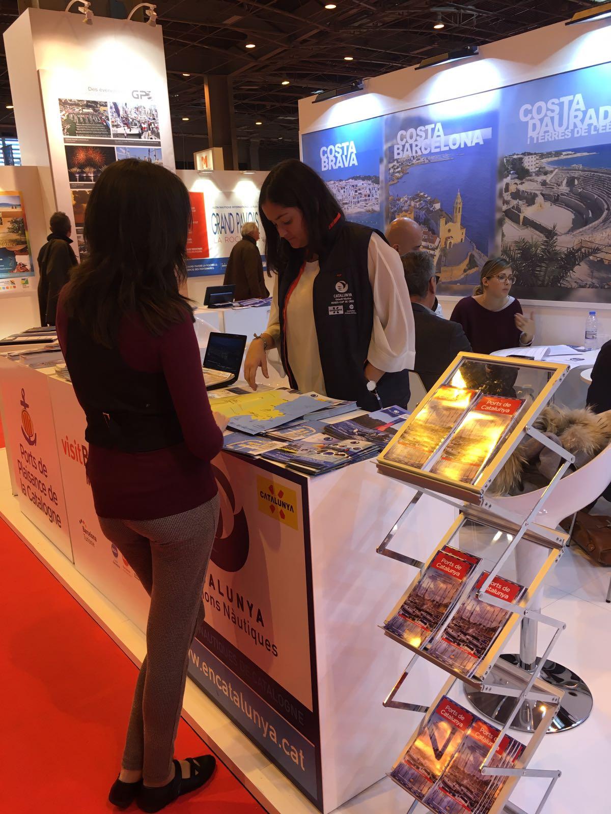 El turisme nàutic a Roses i el Cap de Creus es promociona a París