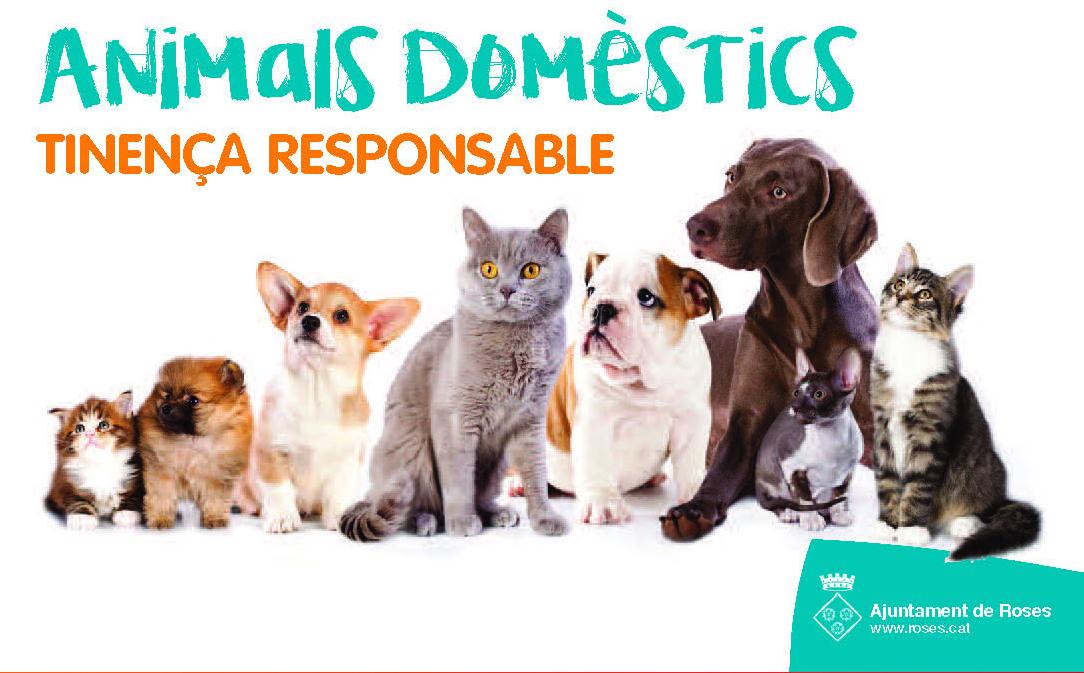 L'Ajuntament de Roses consciencia sobre l'adopció d'animals de companyia i una cura dels mateixos cívica i responsable