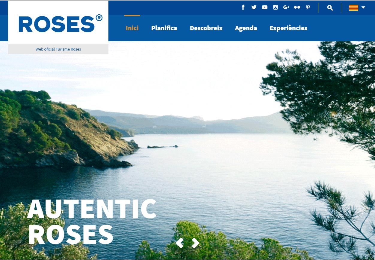 La web de Turisme de Roses s'actualitza