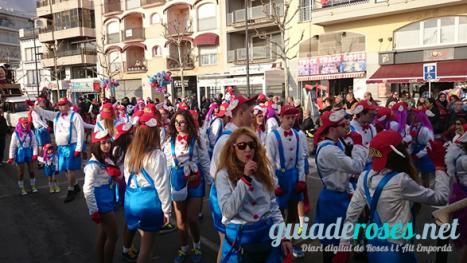 Ordre de sortida per les Colles del Carnaval 2017