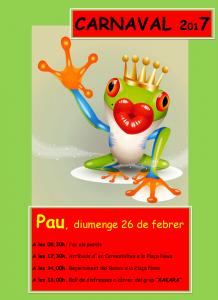 cartell carnaval pau.fw