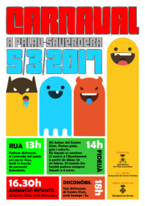 Carnaval 2017 a Palau-saverdera