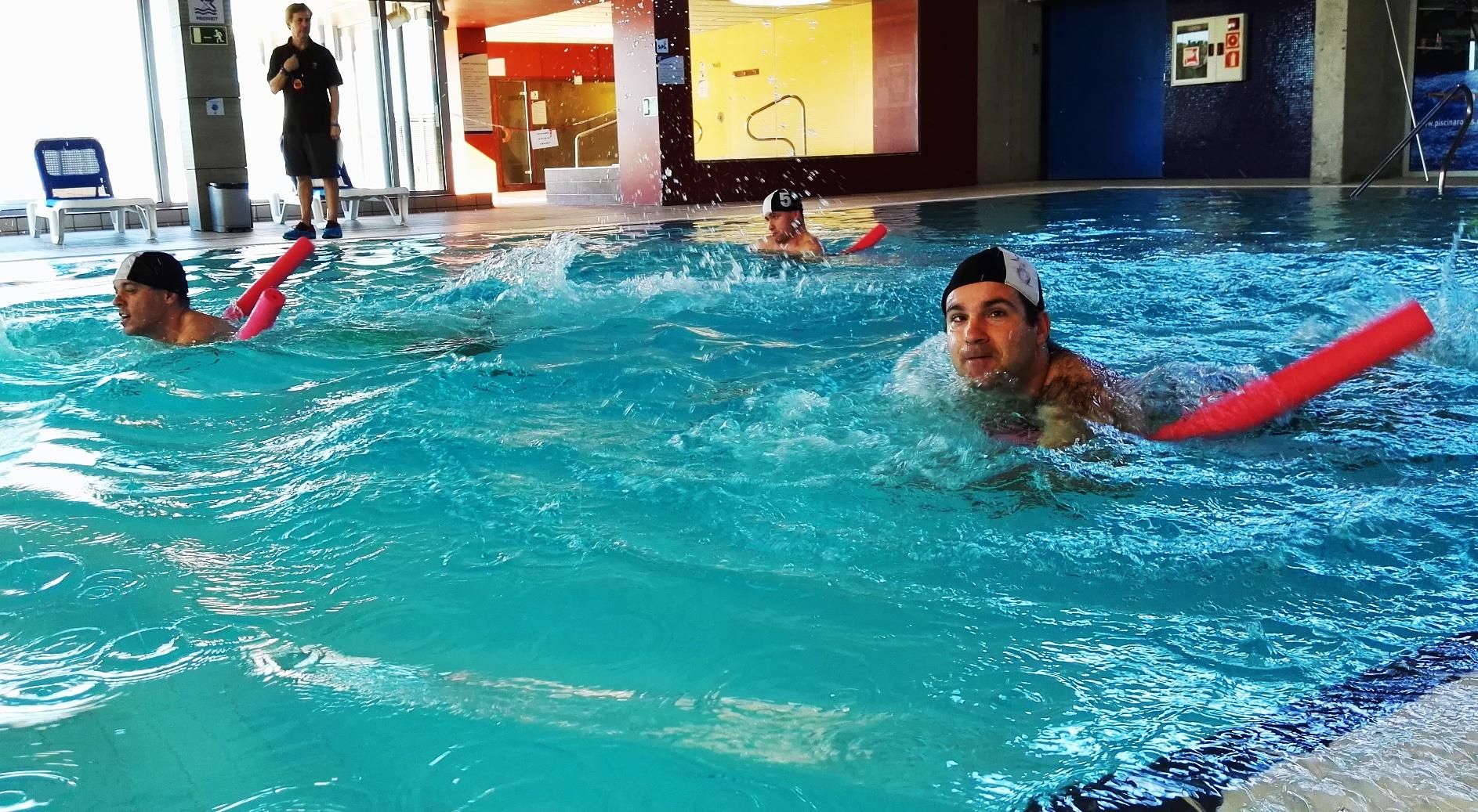 la piscina municipal de roses acull la trobada de nataci