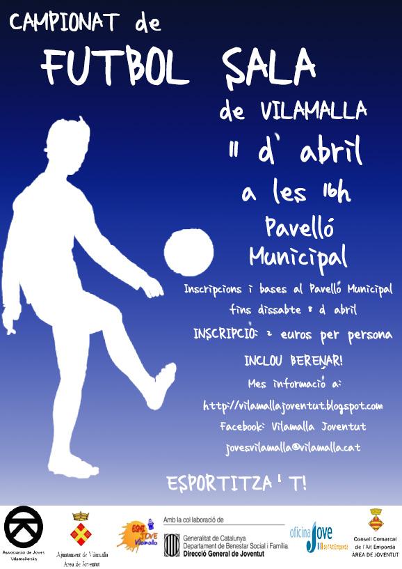 Campionat de Futbol Sala a Vilamalla
