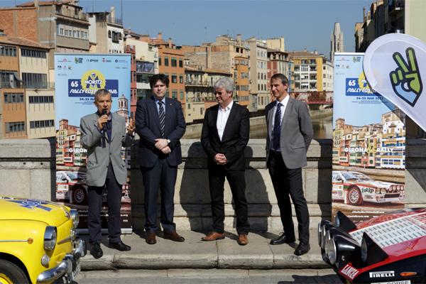 Girona acull una nova edició del Rally Costa Brava amb la xifra rècord de 160 inscrits