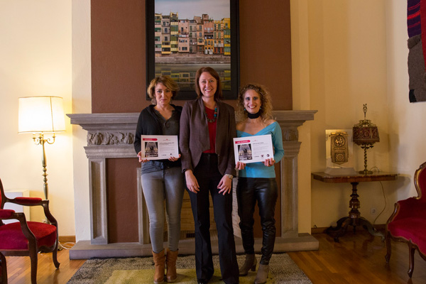 L'Ajuntament de Girona lliura els premis del cinquè concurs d'Instagram #Viulallum