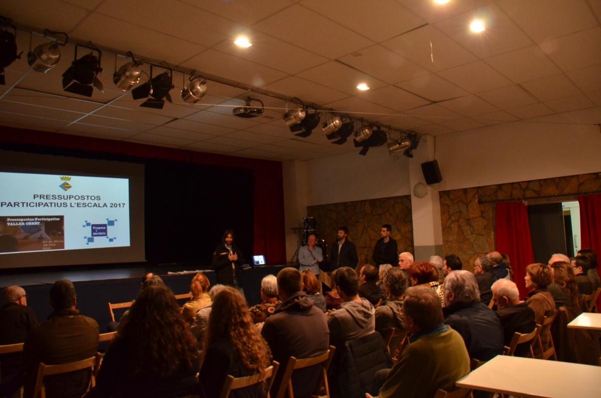 El taller públic marca les prioritats entre les propostes dels pressupostos participatius