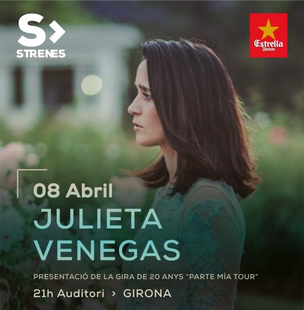 Julieta Venegas en concert a Girona