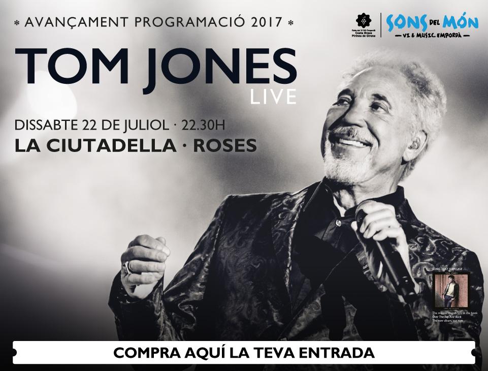Tom Jones en concert a Roses