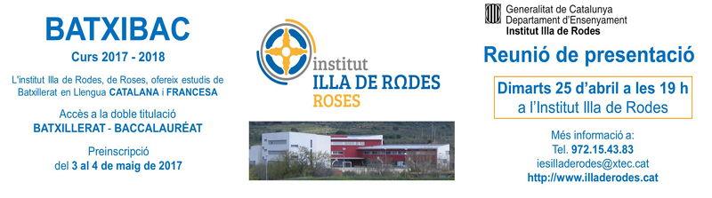 L'Institut Illa de Rodes consolida l'oferta dels estudis de Batxibac