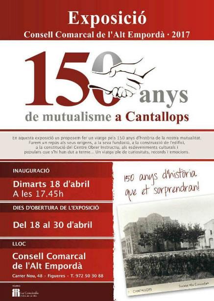Exposició a Cantallops