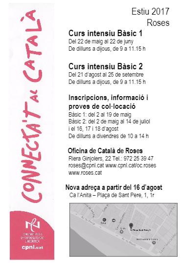 Cursos de Català a Roses