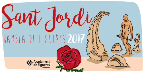 Figueres celebrarà la diada de Sant Jordi amb una desena d'activitats culturals durant tres dies
