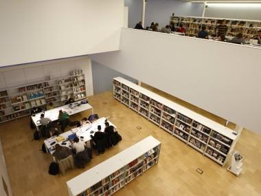2015 Biblioteca Carles Rahola de Girona. FOTO: PERE DURAN