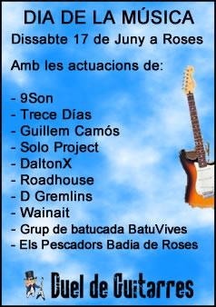 Duel de guitarres Roses