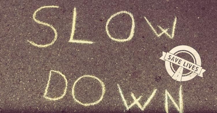 #SlowDown, la reducció de la velocitat salva vides