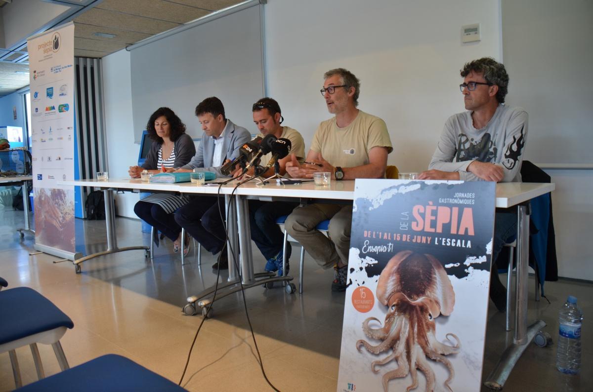 El Projecte Sèpia multiplica per sis el nombre d'incubadores i incorpora unes jornades gastronòmiques a l'Escala
