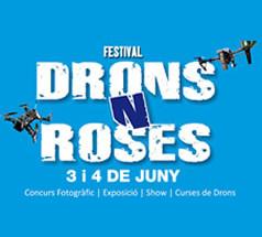 festival drons roses