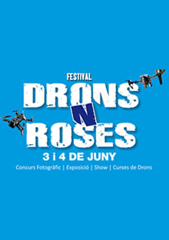 festival drons roses