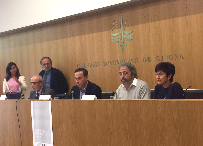 El Col·legi d'Advocats de Girona lliura els Premis 'Ànima' a Roses per la seva defensa dels drets dels animals