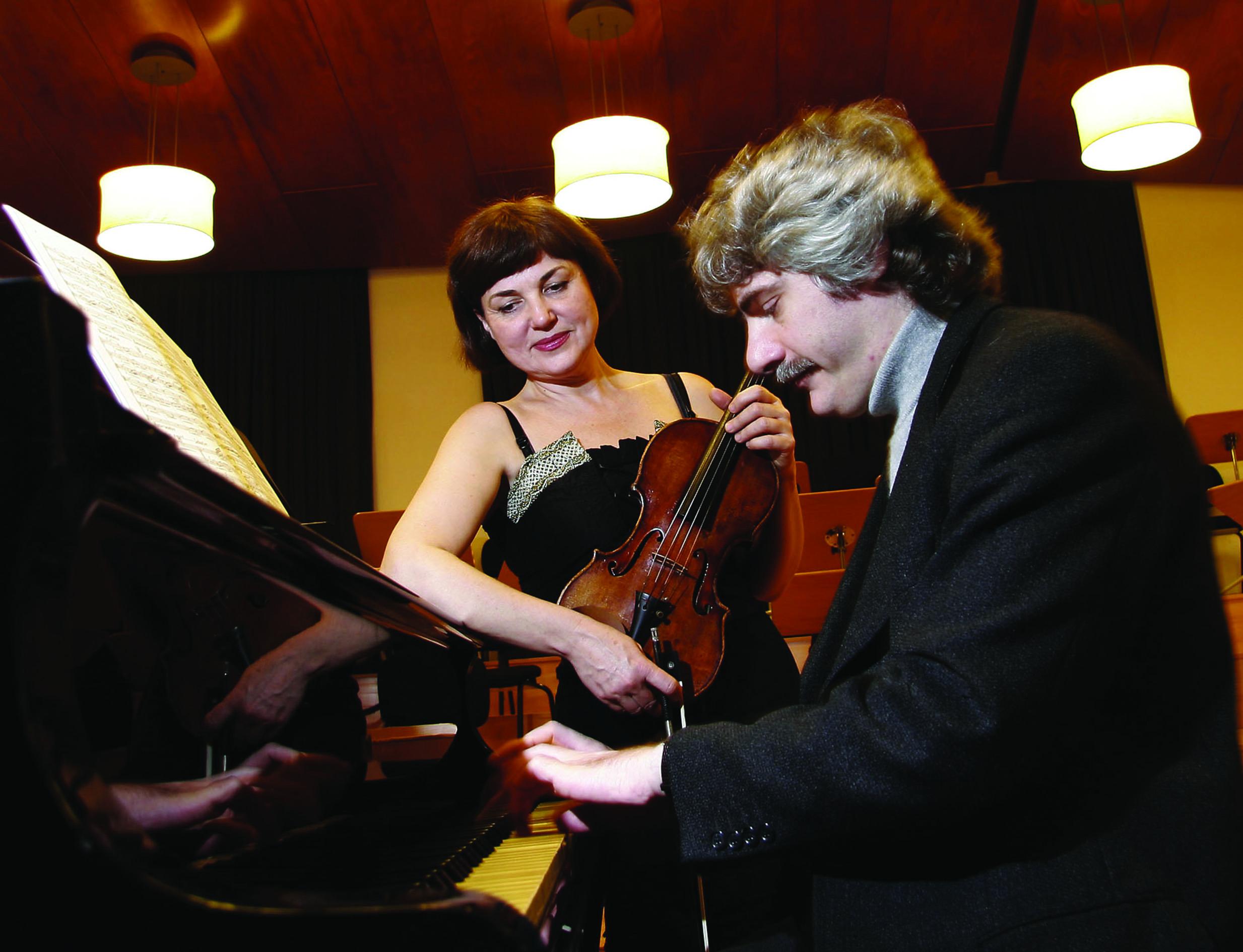 La violinista Ala Voronkova actua al TMR, dins el cicle Tarda de Clàssics