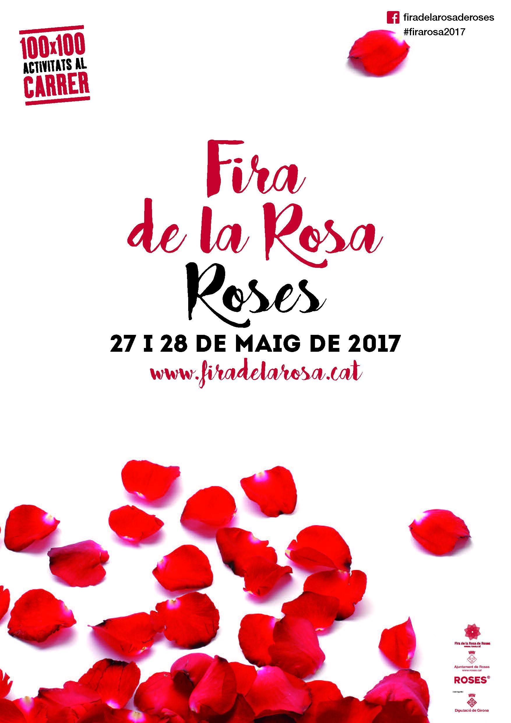 La Fira de la Rosa de Roses torna el 27 i 28 de maig amb una vintena d'espectacles a peu de carrer