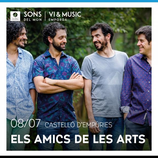 Els Amics de las Arts en concert a Castelló d'Empúries