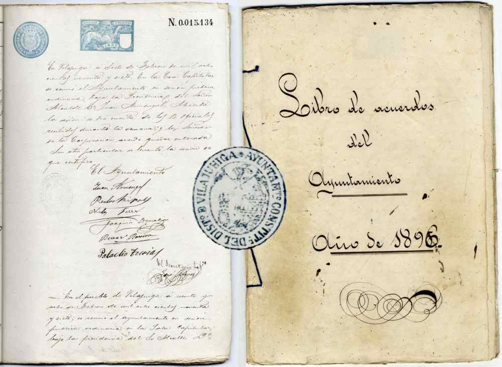 L'Arxiu Comarcal digitalitza els llibres d'actes de l'Ajuntament de Vilajuïga del 1865 al 1978