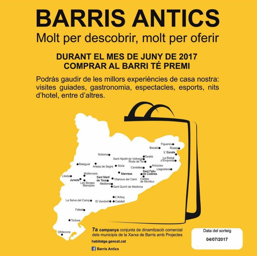 """Roses entre els 33 municipis que participaran en la 7a edició de la campanya """"Barris antics, molt per descobrir, molt per oferir"""""""