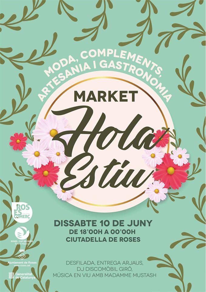 """Roses Comerç organitza el primer  """"Market Hola Estiu"""" per dinamitzar el comerç del municipi"""