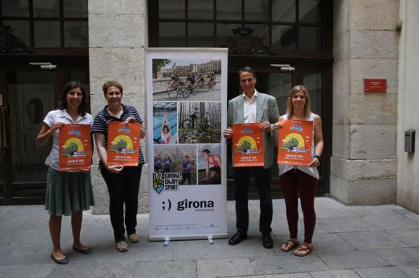 Girona es prepara per acollir la segona edició de les Supercurses by The Family Run