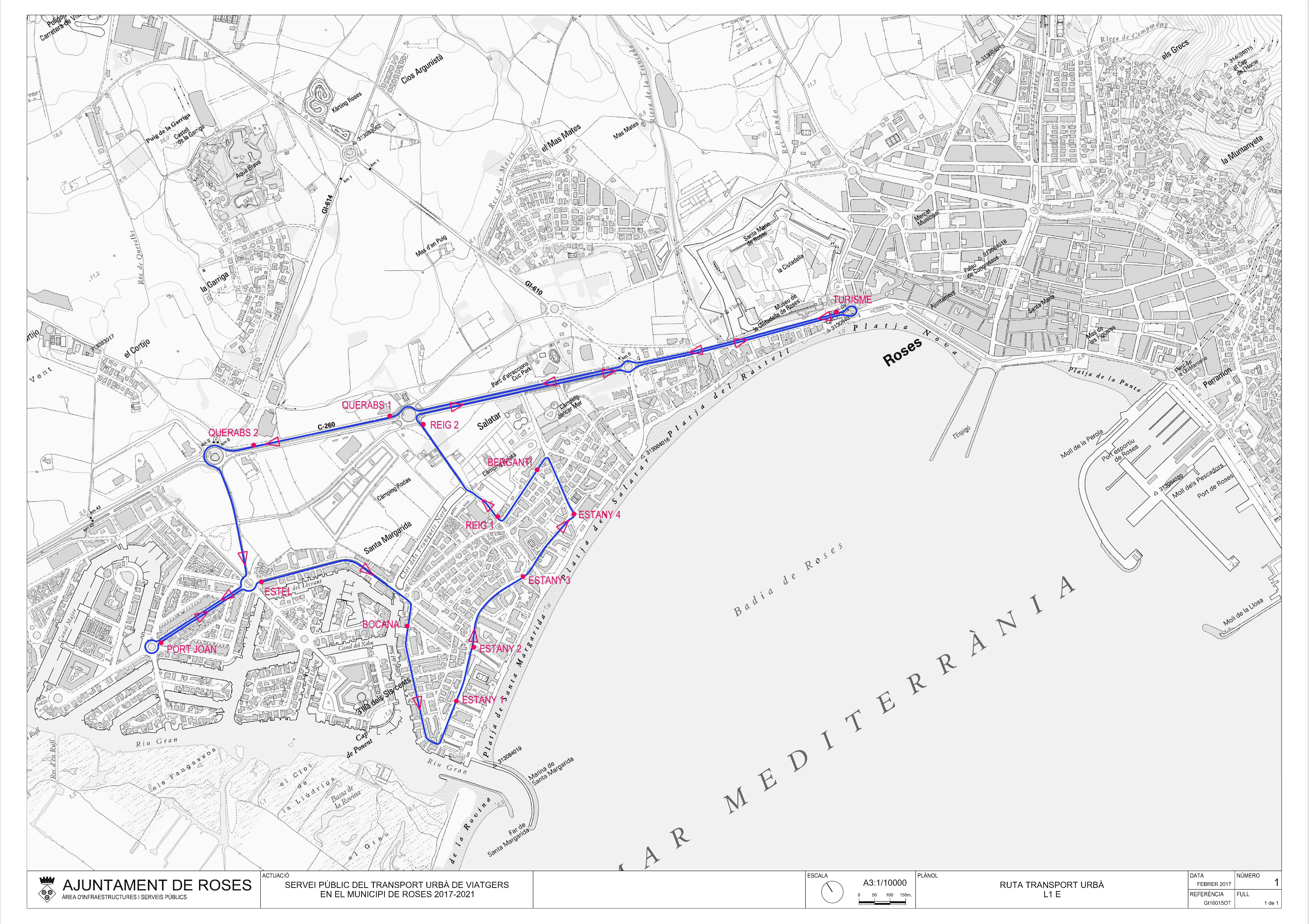 Dilluns 12 de juny s'inicia el servei de transport de viatgers de Santa Margarida