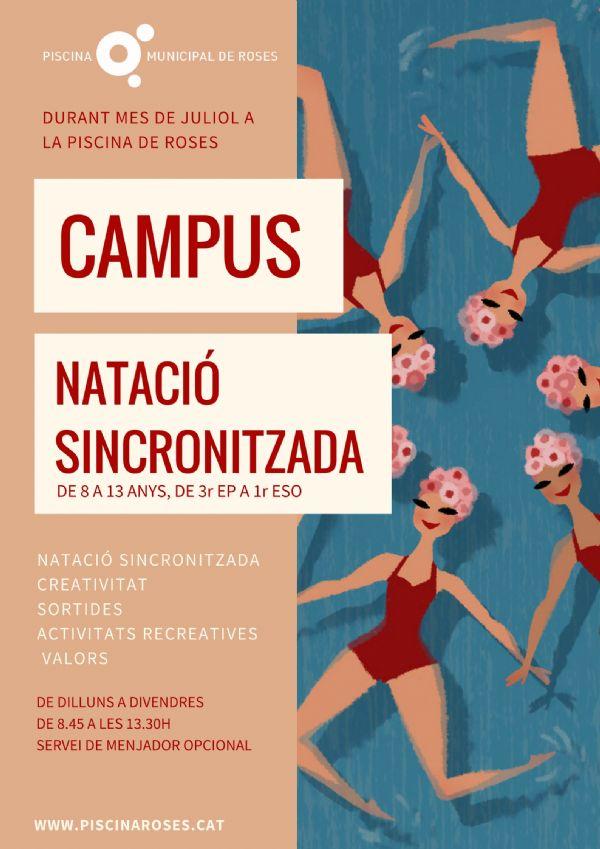 Campus de Natació Sincronitzada a la Piscina de Roses