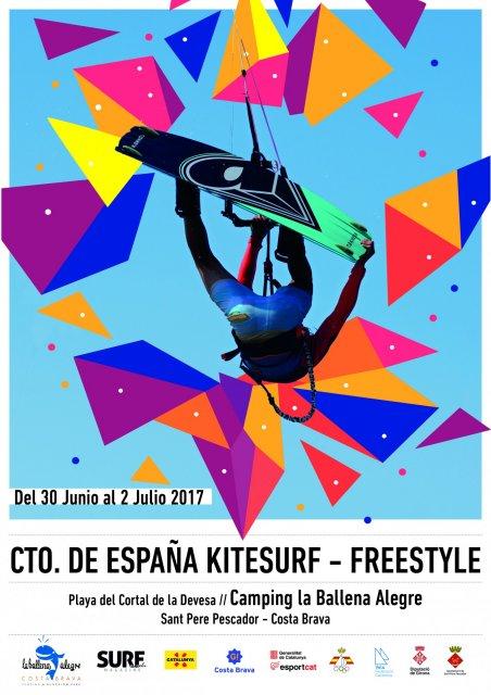 Campionat d'Espanya de Kitesurf a Sant Pere Pescador