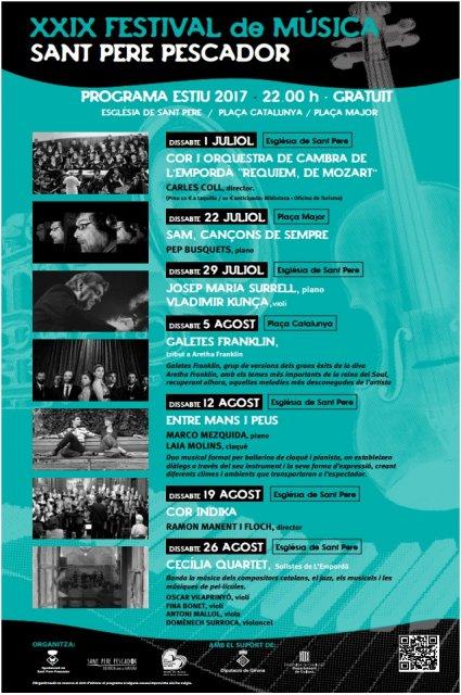 XXIX Festival de Música a Sant Pere Pescador