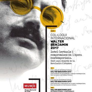 Col.loqui Internacional Walter Benjamin 2017