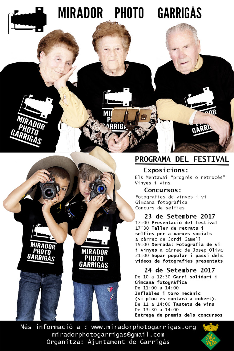 Presentació del projecte Mirador Photo Garrigàs 2017