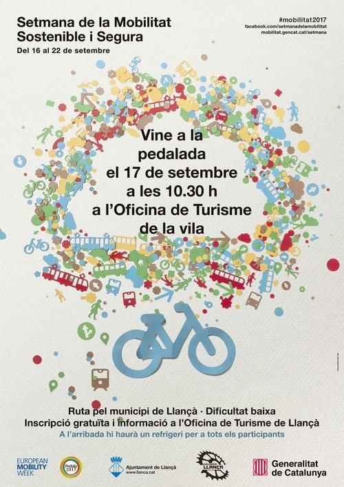 Setmana de la Mobilitat Sostenible a Llançà